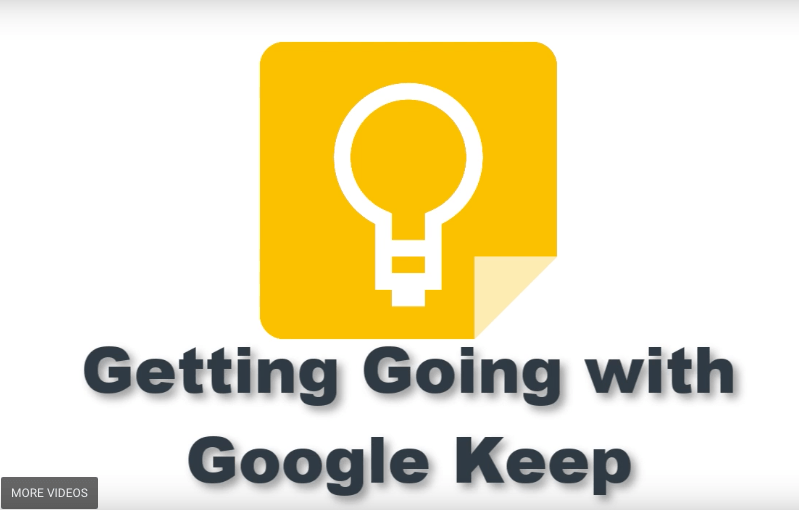 Google Keep for notes, lists and more