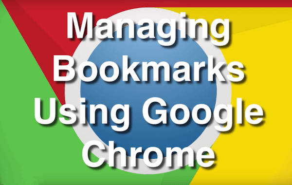 How to easily manage your bookmarks