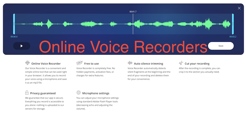 How to record audio from a web browser