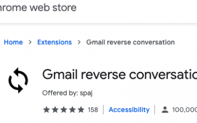 See the newest message at the top in Gmail conversation view