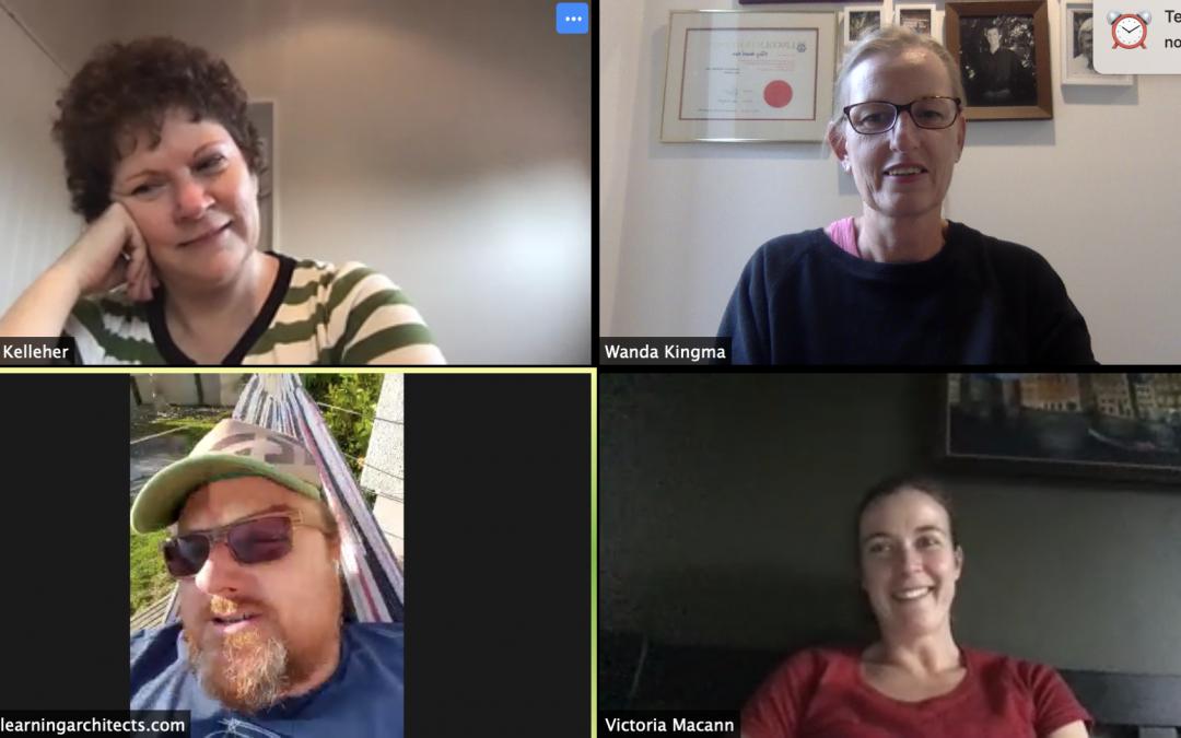 See your people in grid view in Google Meet