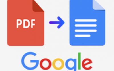 Convert a PDF to an editable Google Doc