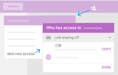 Google Drive > Team Drives > Email link